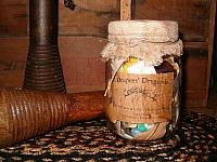 Drapers Dry Goods jar