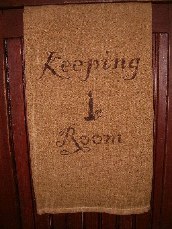 keeping room towel