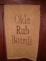 Olde Rub Boards towel