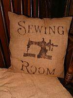 Sewing Room pillow