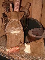 early settlers travel soap sacks
