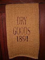 Dry Goods 1891 towel