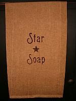 Star Soap towel