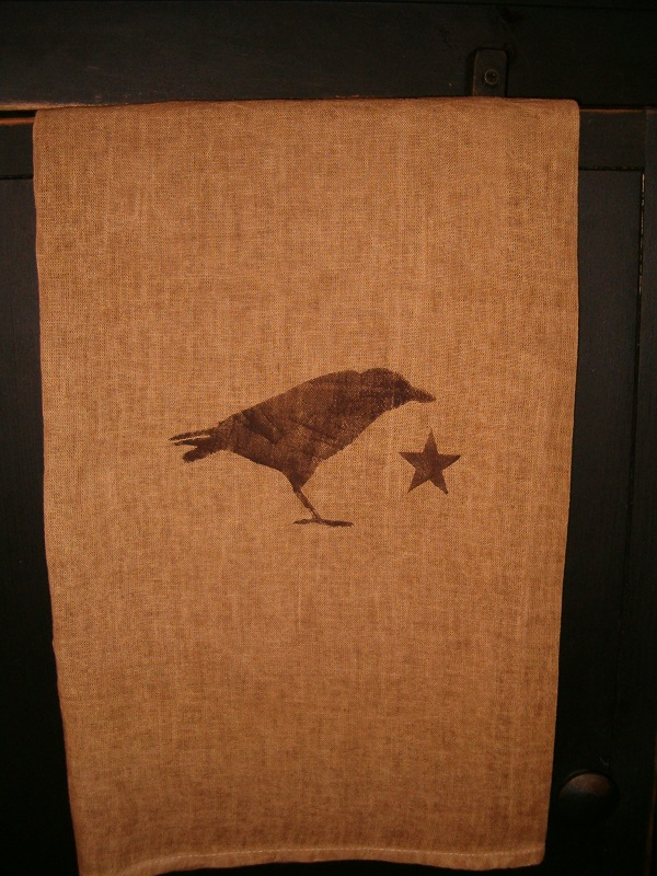 crow towel