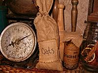 patched oats ditty bag