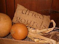 dried gourds pillow