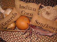 sunflowers gourds indian corn pillow set