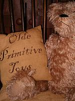 olde primitive toys pillow or towel
