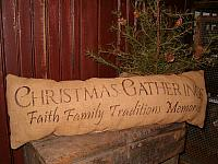 Christmas gatherings pillow