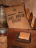 Mammys Corn Bread Fixins pillow