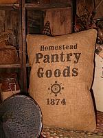 Pantry Goods 1874 pillow