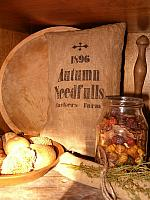 1896 Autumn needfuls pillow