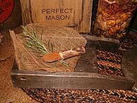 small herb chopping board
