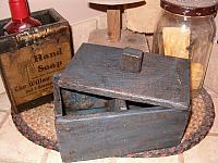small Qtip and cotton combo box