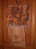 Stillmeadow Creek sunflower seeds wall hanger