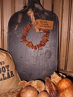 dried sweet potato rings