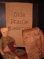olde prairie blessings towel