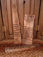 set of three small makedo rub boards