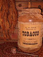 Tobacco jumbo pantry jar