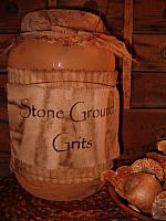 Stone Ground Grits jumbo pantry jar