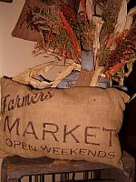 farmers market open weekends pillow