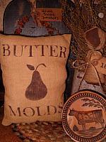 Butter Molds pillow