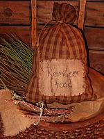 reindeer food ditty bag