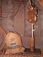 standing makedo wool winder