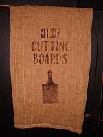 Olde Cutting Boards towel