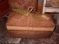 #189 small prairie bench