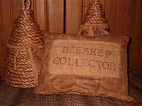 beeskep collector pillow