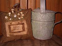 heirloom daisies pocket pillow