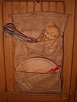 #192 double pocket pantry hanger