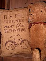 it is the journey pillow