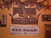 Large Lye Soap sign