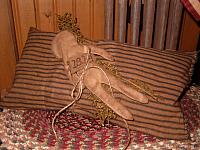 1813 slave doll pillow