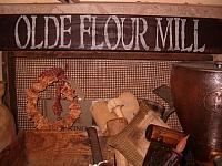 Olde Flour Mill sign