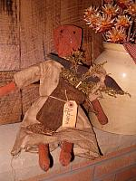 Autumn pumpkin doll
