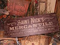 St Nick's Mercantile sign