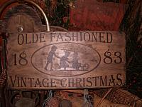 olde fashioned vintage Christmas