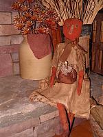Jack O Lynn pumpkin doll