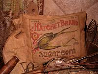 Hatchet Brand Sugar Corn pillow