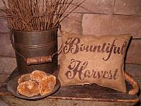 bountiful harvest pillow