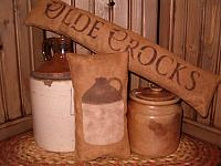 olde crocks pillow set