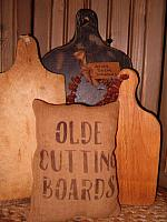 olde cutting boards pillow