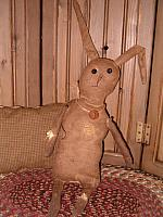 Flopsy the tattered bunny
