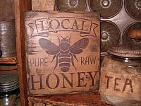 Local Honey sign