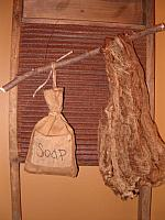 soap sack hanger