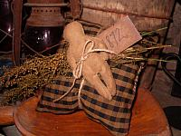 1872 church doll pillow