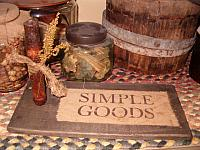 Simple Goods candle board